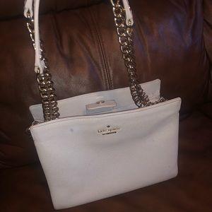 Kate Spade leather adjustable chain purse